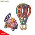 MrPomelo Kids Magnets Building Model Blocks Toy DIY 3D Educational Construction Magnetic Designer Bricks Plastic Children Toys