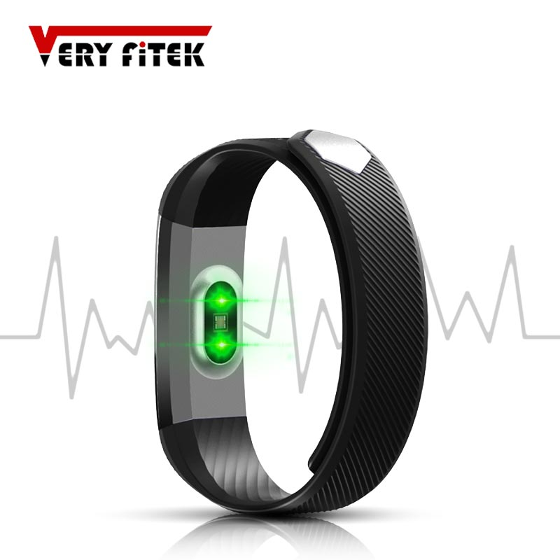 imágenes para A prueba de agua portátiles dispositivos smart watch sport band podómetro id115 hr pulsera para android ios pk xiaomi fitbits apple watch