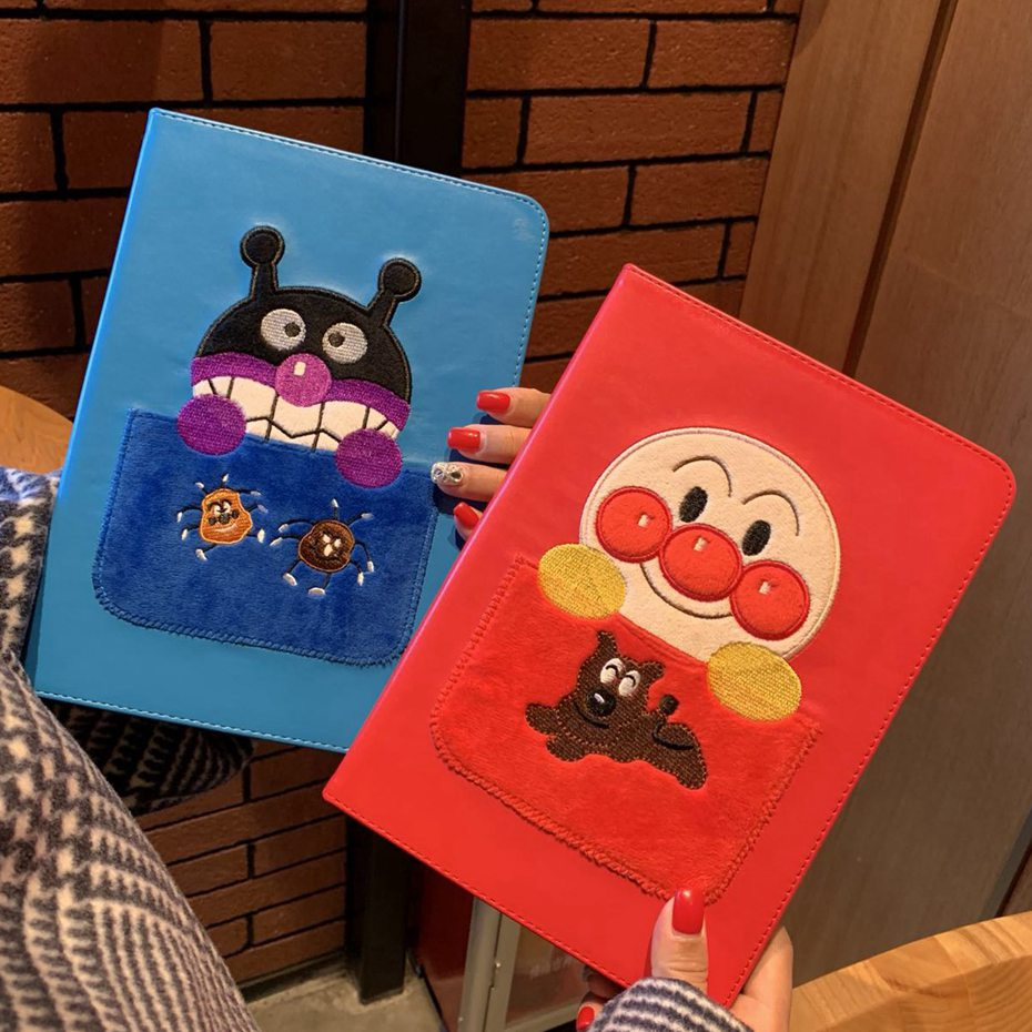 For ipad pro 11 case stitchwork Cartoon Anpanman Stand Protective TPU Cover for ipad pro 11  A1980, A2013, A1934, A1979