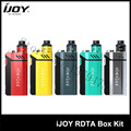 100% Original IJOY RDTA BOX Kit 200W with 12.8ml Large e-juice tank and RDTA BOX MOD Electronic Cigarette Kit 1Pcs/Lot