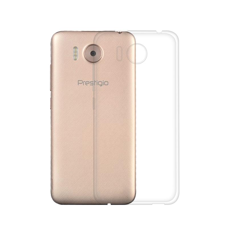 """Փափուկ սիլիկոնային ծածկ ՝ Prestigio Grace R7 PSP7501 DUO Case 5.0 """"բարակ փափուկ TPU ծածկով պատյան Prestigio Grace R7 հեռախոսի դեպքերի համար"""
