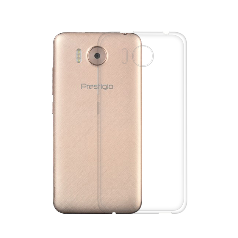 "Mjukt silikonfodral för Prestigio Grace R7 PSP7501 DUO fodral 5.0 ""Tunt mjukt TPU-fodral för Prestigio Grace R7 telefonväskor"