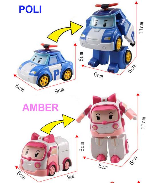 Transformation Robocar Toys