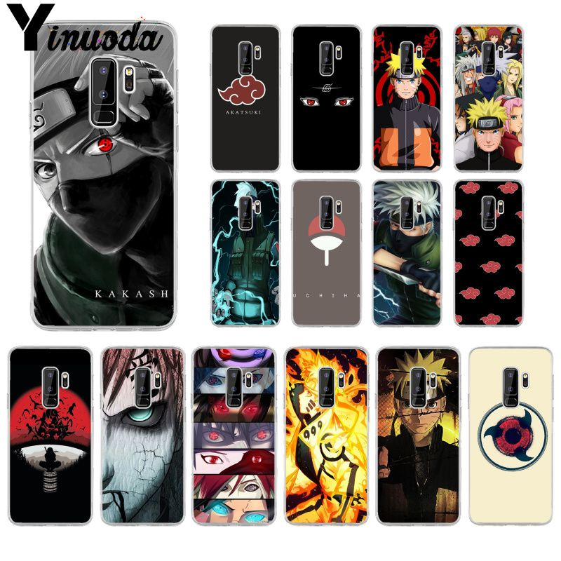 Yinuoda Hokage Naruto Kakashi Coque Shell <font><b>Phone</b></font> <font><b>Case</b></font> for <font><b>Samsung</b></font> S9 S9 Plus S8 S8plus <font><b>S7</b></font> S6 S5 Cover image