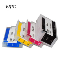 Refillable Inkjet Cartridge For HP953 953XL 953 With ARC Chip For HP OfficeJet Pro 7740 8210 8710 8715 8718 8720 8725