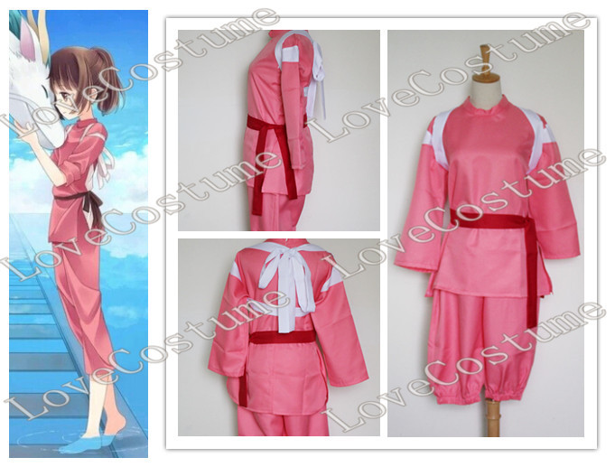 Free Shipping Chihiro Spirited Away Cosplay Costume Tailor Made Tailor Clothes Costume Coinscostum Doll Aliexpress