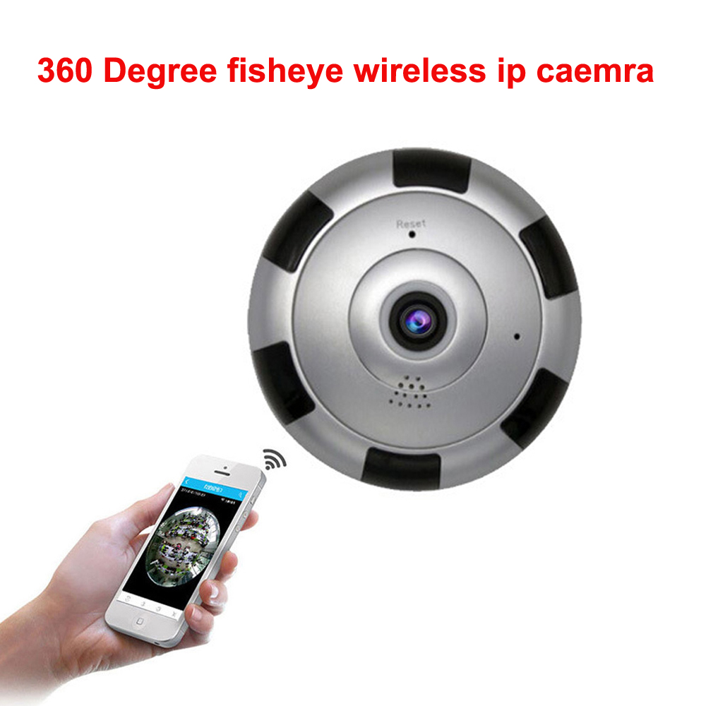 360 Degree Fisheye Panoramic IP Camera 1.3 Megapixel 960P Wireless Wifi 2.4GHZ Security Camera Super Wide Angle Support IR Night erasmart hd 960p p2p network wireless 360 panoramic fisheye digital zoom camera white