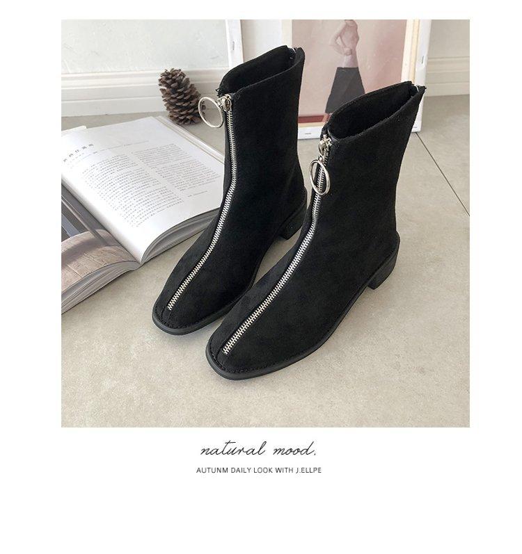 veludo primavera femininos botas 2