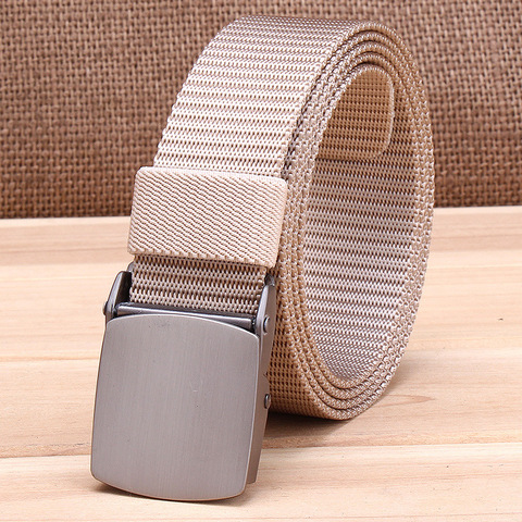 Military Tactical Nylon Belts Men Army Combat Heavy Duty Adjustable Belt Male Quick Dry Breathable Automatic Plastic Buckle Belt Islamabad