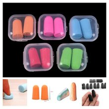 Noise Reduction Earplugs Comfort Foam Soft Ear Plugs Protective For Sleep Slow Rebound Earplugs Hot(China)