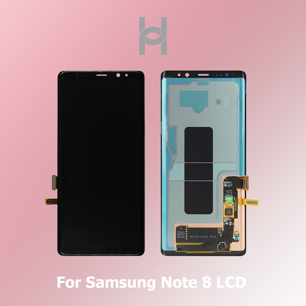 Original <font><b>lcd</b></font> For Supre Amoled <font><b>Samsung</b></font> <font><b>Note</b></font> <font><b>8</b></font> <font><b>Lcd</b></font> <font><b>Display</b></font> Touch Screen Digitizer Assembly For <font><b>Samsung</b></font> Note8 N9500 6.3 inch Screen image