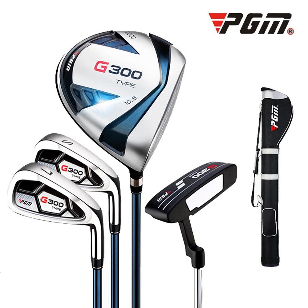 Crestgolf G300 Hommes de Golf Clubs Set --- 1 Golf Gun Bag, 1 # Pilote, 7 # fer, Coin de Sable et Putter