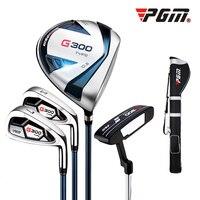 Crestgolf G300 Men's Golf Clubs Set 1 Golf Gun Bag, 1# Driver, 7# Iron, Sand Wedge & Putter Golf Accessories