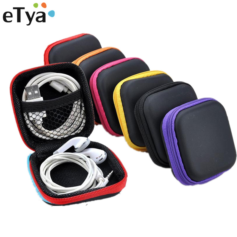 ETya Travel Accessories Bags Pouch Mini Earphone Headphone Headset SD Card Phone Data Line Storage Bag Coin Money Organizer Box