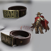 Athemis Soldier 76 cosplay costume Jesse Mccree cosplay belt High quality and same as original Game cosplay