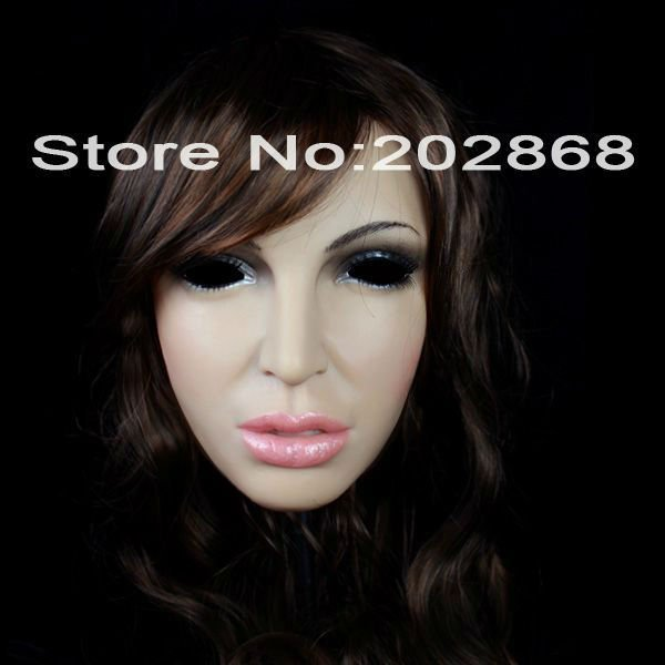 SH-8 realistic silicone masks party mask CD CHANGE  -  Guangzhou Usilicone chemical material Co.,Ltd store