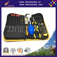 (ACC TOOL14) professional tool kit to remanufacture toner cartridge for HP for canon for brother for samsung for dell (14 in 1)