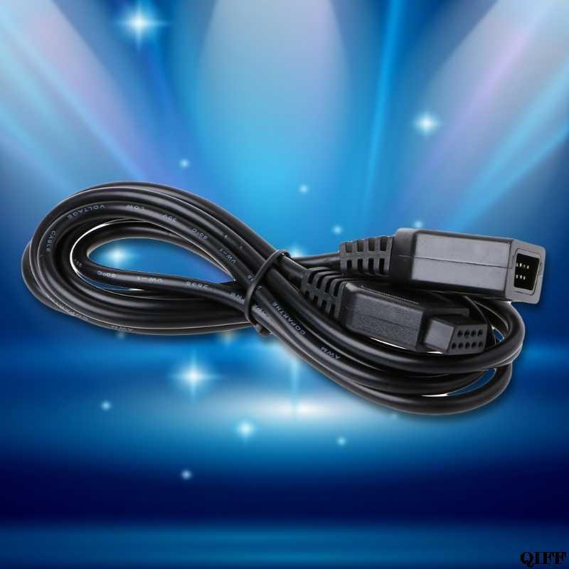 Envío Directo y venta al por mayor Cable de extensión de 9 pines Cable 1,8 m para Sega Genesis 2 controlador mango de juego agarre APR28
