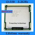 Core i3 550 Desktop CPU 3.2GHz L3 4MB/2.5GT/s processor LGA 1156 1156pin Computer Original authentic Free shipping