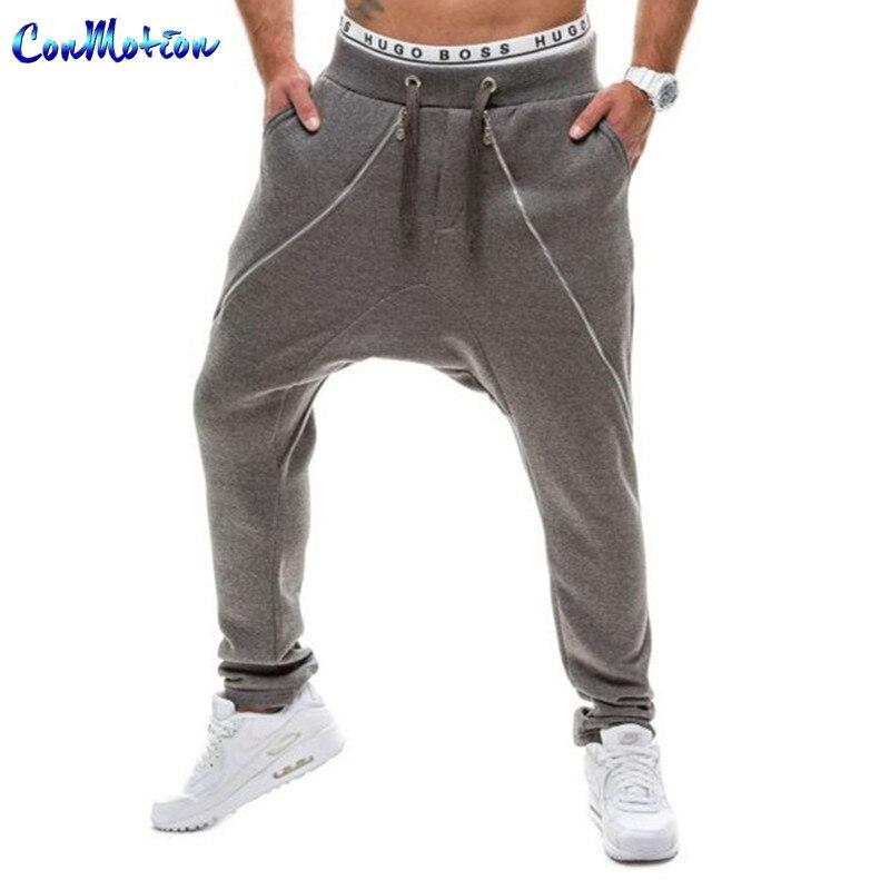 Lrregular Large Zipper Decoration Fashion Trousers New ...
