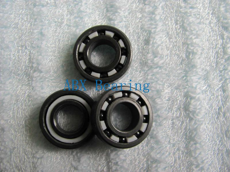 Free shipping MR104 6001 623 606 636 629 6000 696 627 688 628 6802 full SI3N4 ceramic bearing