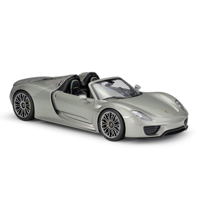 Welly 1:18 Supersport coche 918 Spyder Hard Top lloguer de fundición modelo de coche-in Troquelado y vehículos de juguete from Juguetes y pasatiempos on AliExpress - 11.11_Double 11_Singles' Day 1