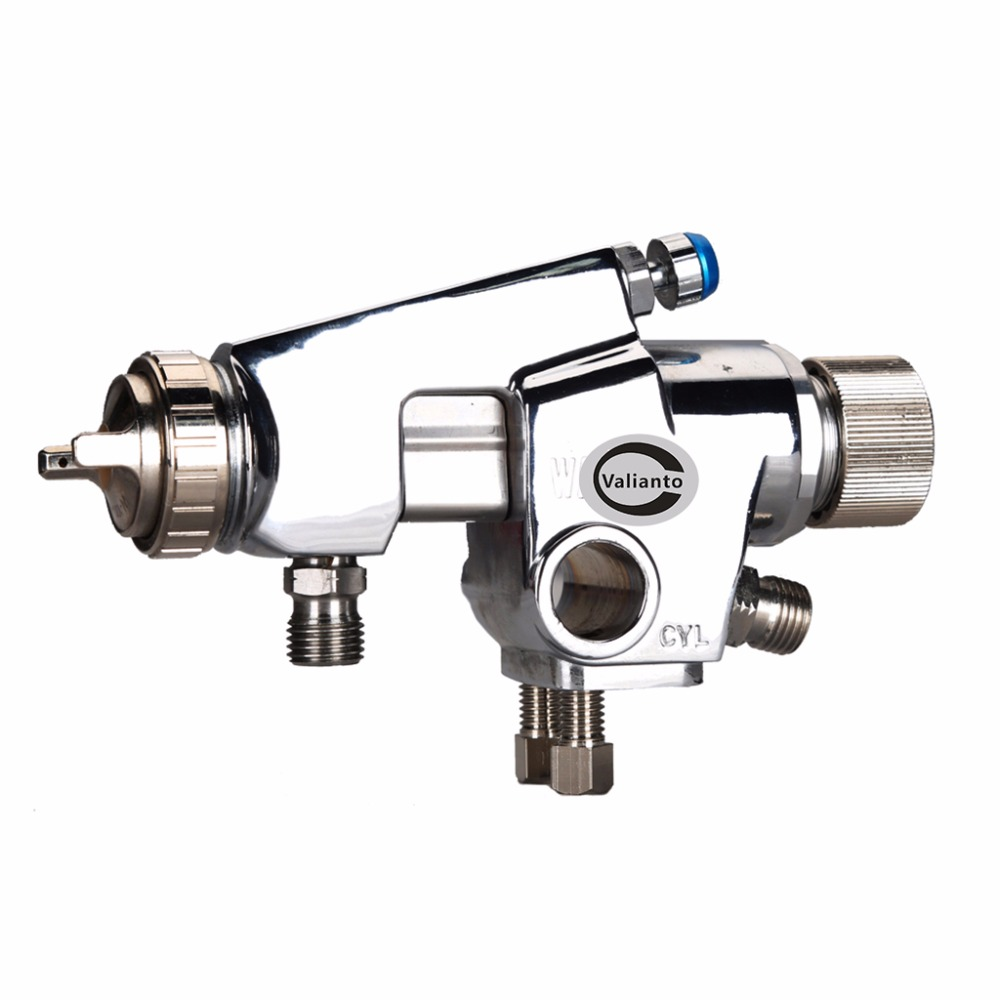 Free Shipping WA100 Pressure Feed Automatic Spray Gun Silver Professional Spray Gun HVLP Car Paint Gun Sprayer Machine business english handbook advanced cd