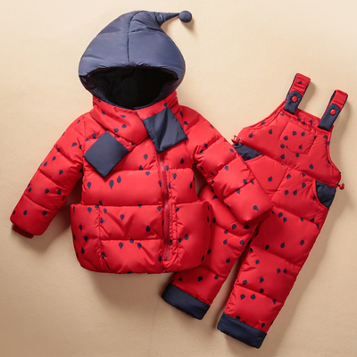 2017-Winter-Childrens-Clothing-Set-Kids-Ski-Suit-Overalls-Baby-Girls-Down-Coat-Warm-Snowsuits-Jacketsbib-Pants-2pcsset-0-5T-1
