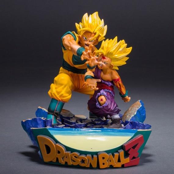 Nouveau chaud 18 cm dragon ball Super grand Saiyan fils Gohan Son Goku Kakarotto figurine jouets poupée collection jouet de noël avec boîte