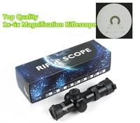 Riflescope 1 6x28IRF Mil dot Red Green Illuminated Rifle scope 1x 6x Magnification Optics