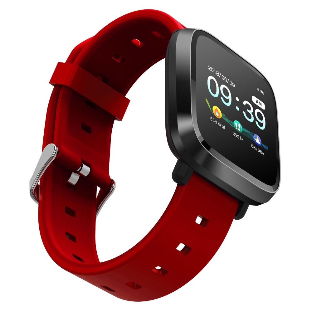 696 Y8 Smart Watch Men IP67 WaterProof Bracelet Blood Pressure Blood Oxygen Sports Activity Fitness Tracker Women Smartwatch