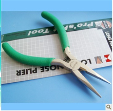 Free Shipping ProsKit 1PK-036S Long Nose Plier (136mm) Non-slip Sharp nose pliers 1PK-037S Diagonal Cutting (110mm)