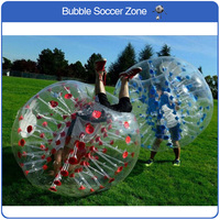 Free Shipping PVC Inflatable Bubble Soccer Ball Bumper Ball Inflatable Zorb Balloon Fun Games Adult Bouncing Ball Soccer Ball