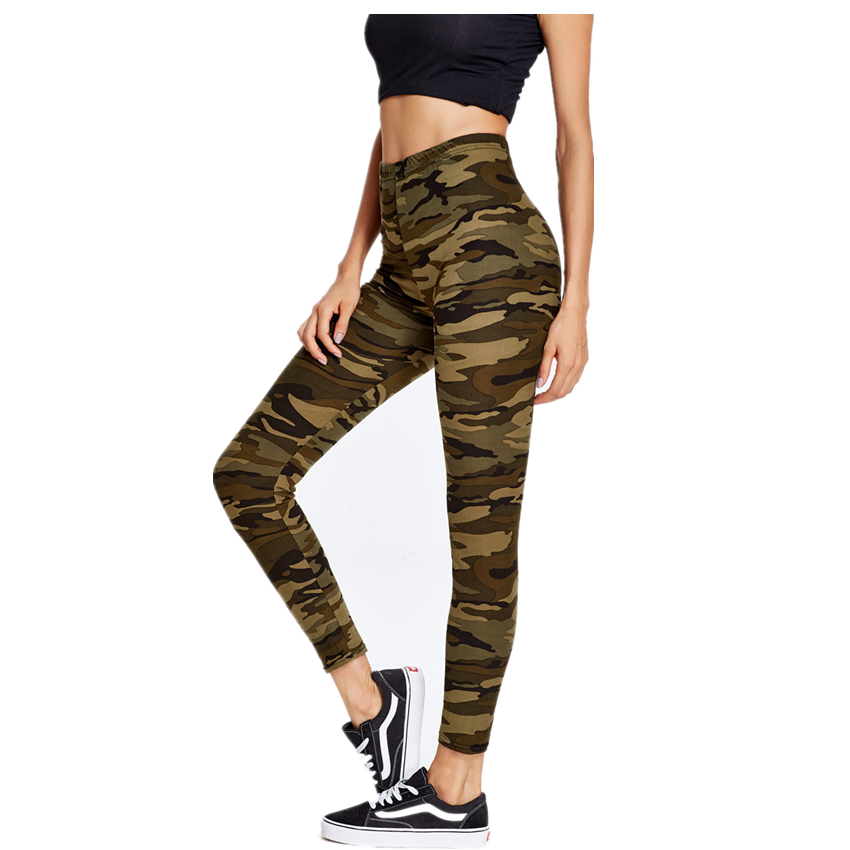 New Fashion Autumn Pants Women Leisure Camouflage Printed ...