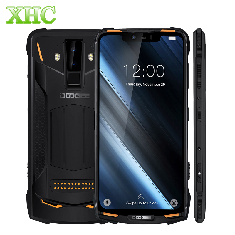 DOOGEE S90 Mobile Phone 6 18 Helio P60 Octa Core Smartphone 6GB 128GB Android 8 1