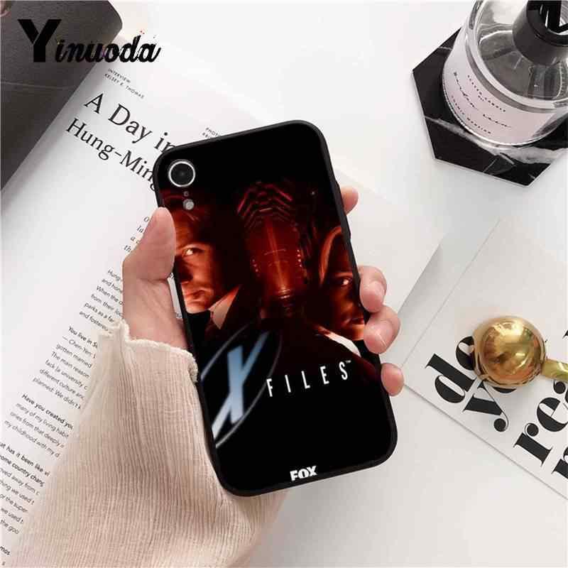 Yinuoda X-Files ฉันต้องการที่จะเชื่อ TPU ซิลิโคนสำหรับ iPhone8 7 6 6S 6 plus X XS MAX 5 5S SE XR 10 11 11pro 11 PROMAX