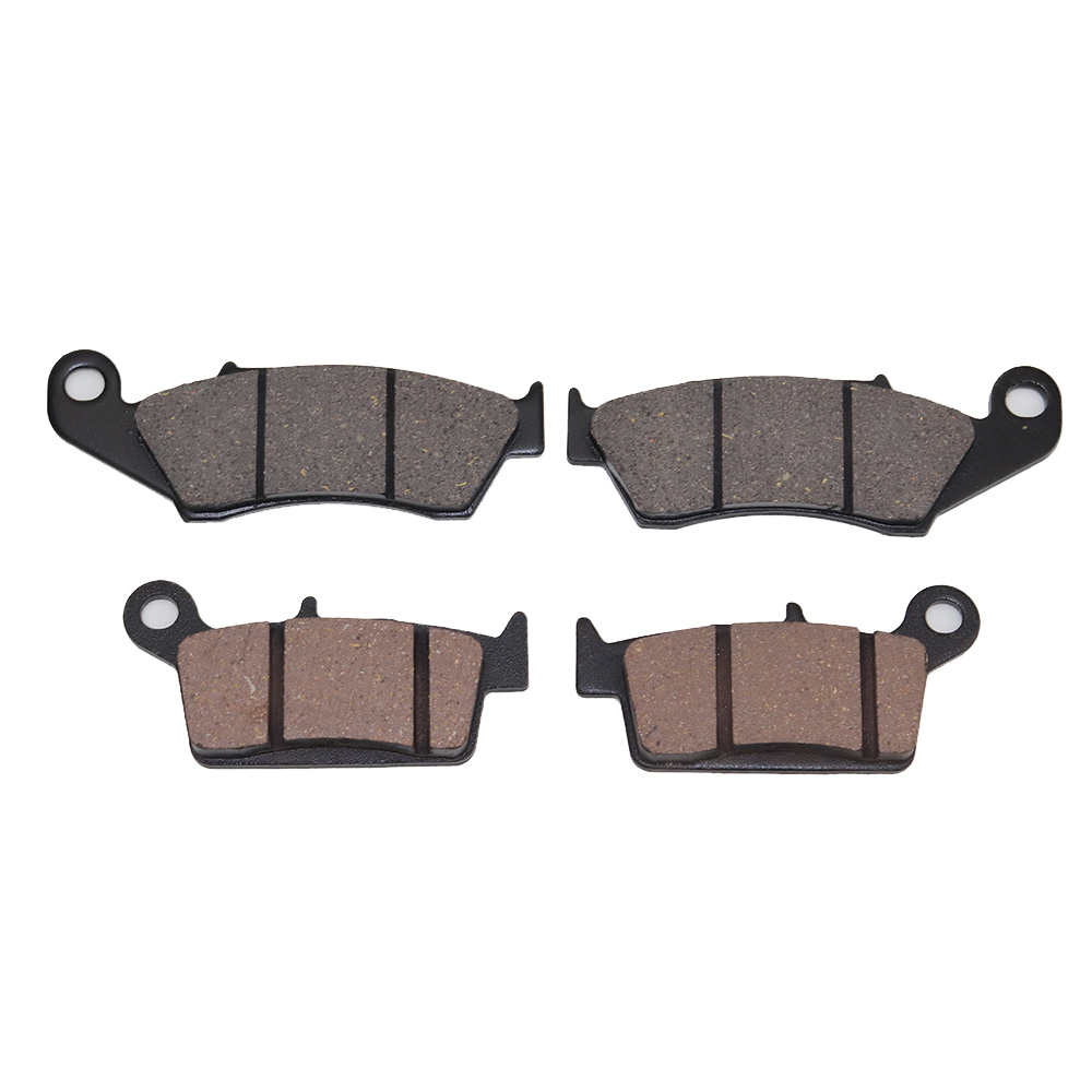 Front Rear Brake Pads For Kawasaki KX250 1996 2003 KDX 250