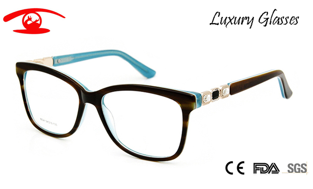 e0fe279affb9e0 Brand Designer Vintage Spectacle Frames Women Luxury Rhinestone Eyeglasses  Women Acetate Sexy Glasses Rx