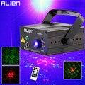 ALIEN RG 3 линзы 48 узоров смешивания лазерный проектор сценическое освещение эффект синий светодиодный сценический свет шоу диско DJ вечерние о...