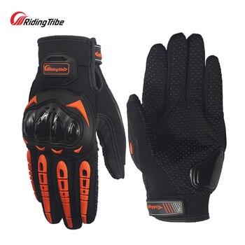 Riding tribe-guantes para ciclismo de montaña gants, guantes para carreras cruzadas