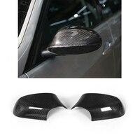 Adicionar Em Carro Espelho Capa Para BMW Série 1 E82 E87 LCI Hatchback 2010-2012 Espelho Lateral Tampa de Cobertura shell