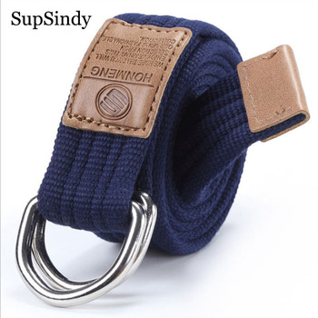 2018 new arrival men's canvas belt Alloy buckle military belt Army tactical belts for Male top quality men strap Black Red 115cm