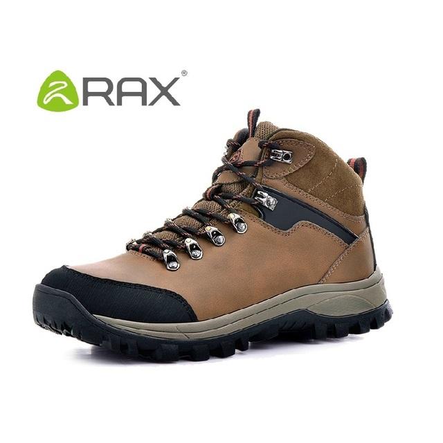Botas de homens ultraleve derrapar à prova d' água de alta-top botas de caminhada homens caminhando ao ar livre sapatos de escalada caça trekking # D006
