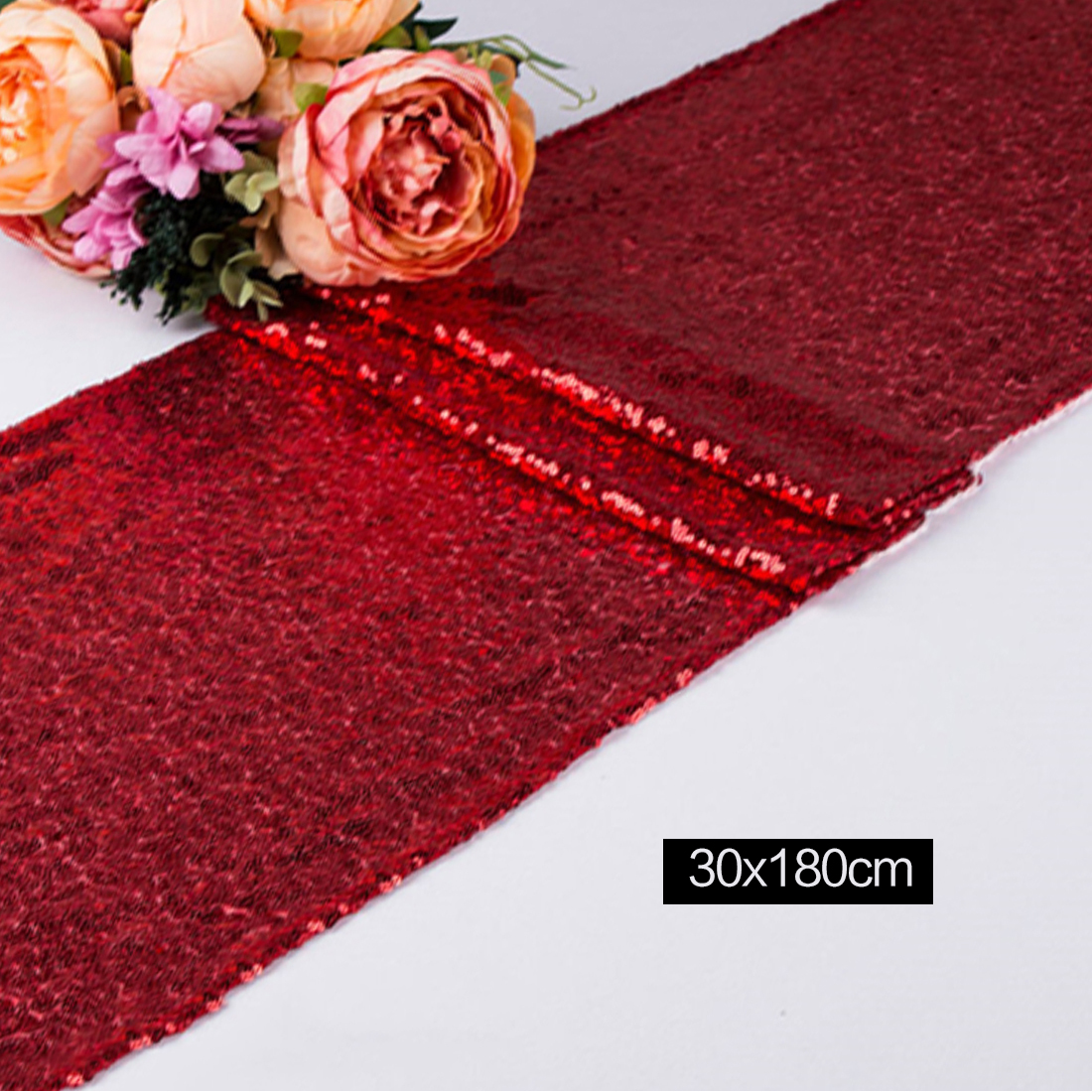 silvergold sequin table runner for wedding table decoraiton 30cm by 180cmmost cheap