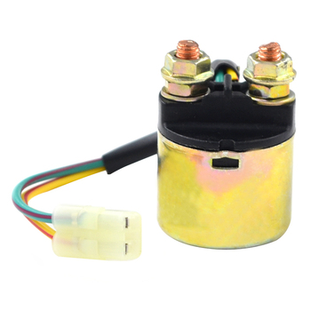 Motorcycle Starter Relay Solenoid Electrical Switch for Honda TRX500 Fourtrax Foreman Rubicon 2001-2011 ATV motorcycle starter motor for honda atv trx450fm trx 450 fe fourtrax foreman s 2002 2004