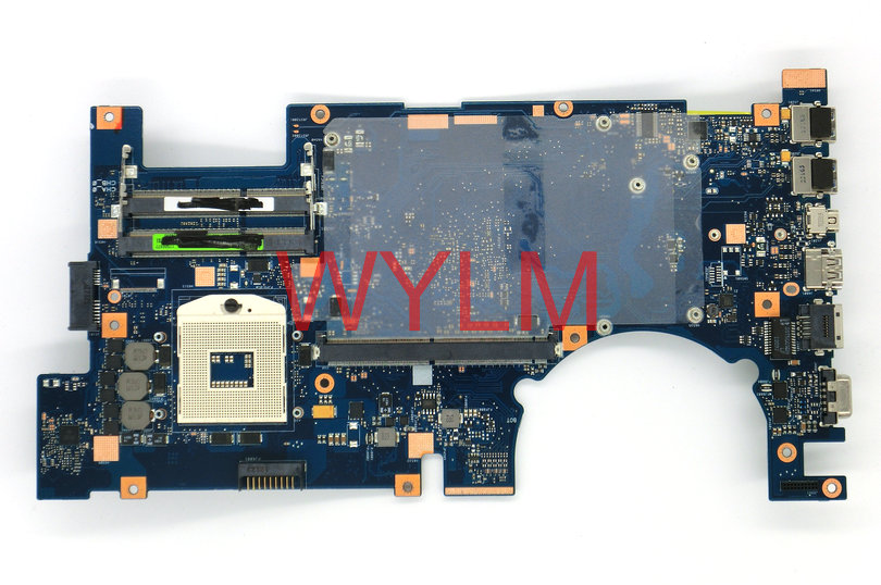 free shipping G75VW 2D connector mainboard REV 2.1 For ASUS G75V G75VW laptop motherboard MAIN BOARD 100% Tested Working Well backplane board for 44v5078 p6 550 well tested working