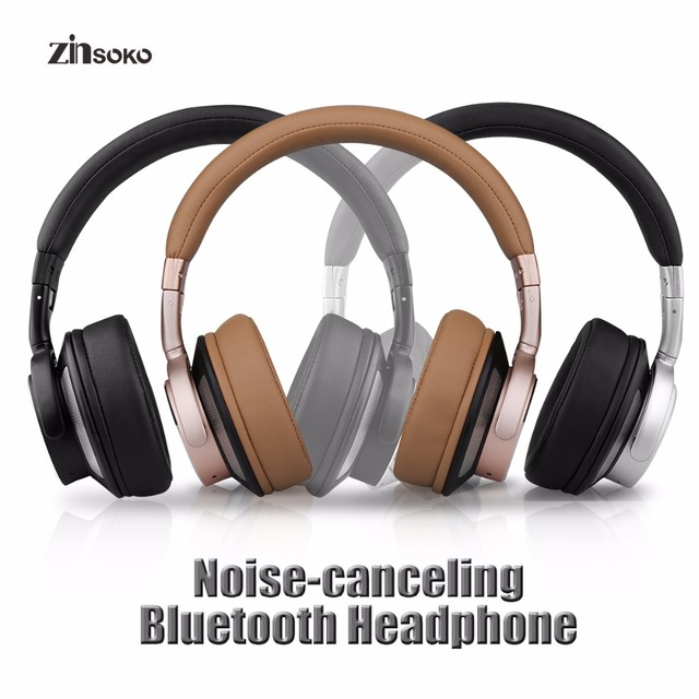 1afda808756 Zinsoko Z-H01 Wireless Bluetooth Headphone Noise Cancellation Hifi Stereo  Sound With Mic Headset Bluetooth