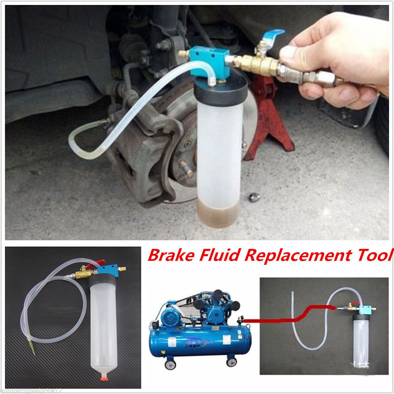 Car Brake Fluid Replacement Tool Pump Oil Drained Tools Empty Exchange Equipment car vehicle brake fluid replacement tool pump oil bleeder empty exchange equipment