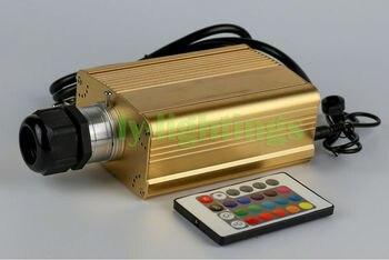 Włókna światłowodowe źródło światła Led RGB Lekki Silnik Box Pilot Zdalnego Sterowania Na Podczerwień Dla światłowodu Oświetlenie Nocne Gwiazda Sufit Dekoracji Domu 25 W