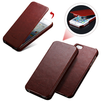 Top Quality Retro PU Leather Flip Capa Fundas Case For Apple IPhone 5 5S SE Ultra